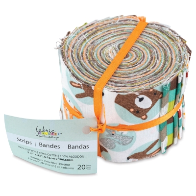 20-Piece Strips Roll, Forest Friend
