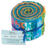 20-Piece Strips Roll, Batik
