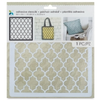 Adhesive Fabric Stencil, Quarterfoil