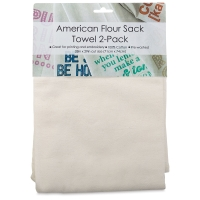 American Flour Sack Towels, Pkg of 2