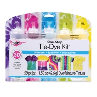 One-Step Tie-Dye Kit, 5-Color Kit, Ultimate