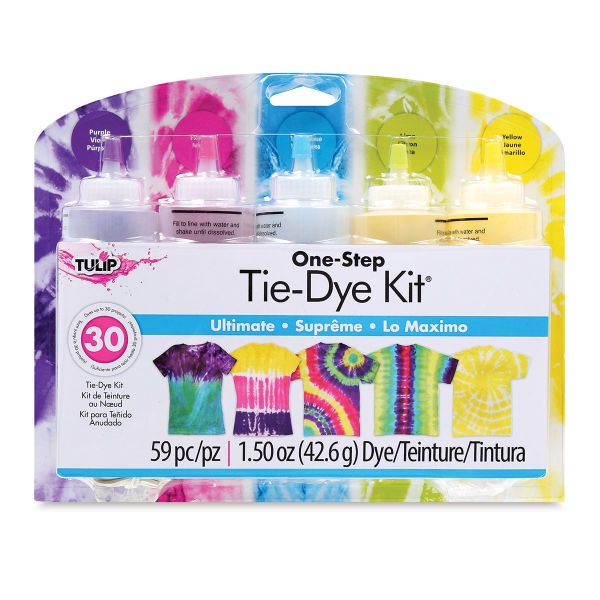 One-Step Tie-Dye Kit, 5-Color Kit, Ultimate