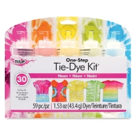 One-Step Tie-Dye Kit, 5-Color Kit, Neon