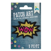 Iron-On Patch Art (Sequin WOW)