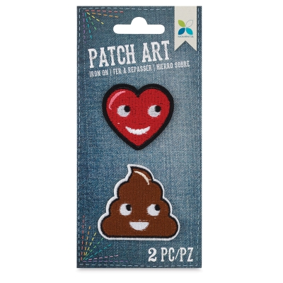 Iron-On Patch Art (Emojis)
