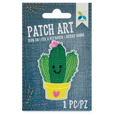 Iron-On Patch Art (Cactus)