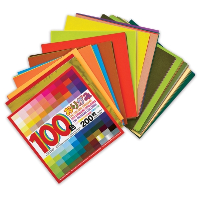 Origami Paper Pack, Pkg of 200