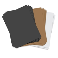 "Assorted Basics, Pkg of 10 Sheets8½"" × 11"""