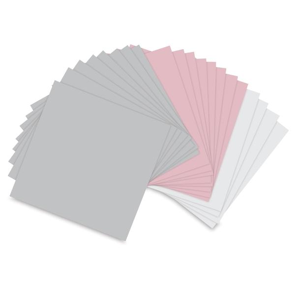 """Assorted Pastels, Pkg of 20 Sheets<br/>6"""" × 6"""""""