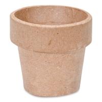 """Papier Mâché Clay Pot2"""" x 2"""""""