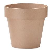 """Papier Mâché Clay Pot3"""" x 3"""""""