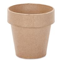 """Papier Mâché Clay Pot4"""" x 4"""""""