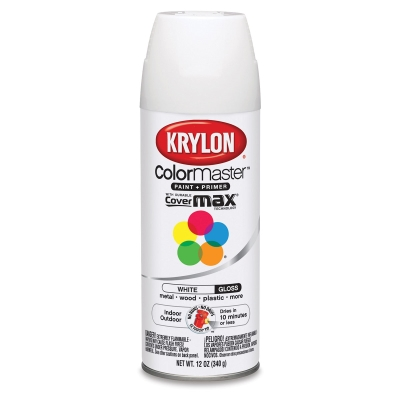 Krylon Spray Paint, White Gloss