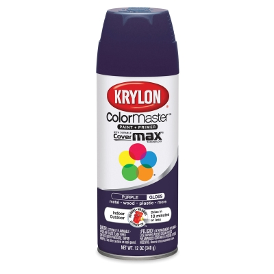 Krylon Spray Paint, Purple Gloss