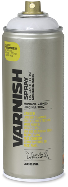 Montana Varnish Spray, Semi-Gloss