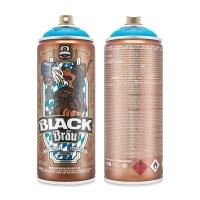 Montana Black Spray Paint, Artist Series Bavaria Blue