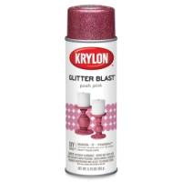 Glitter Blast Spray Paint, Posh Pink