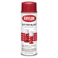 Glitter Blast Spray Paint, Cherry Bomb