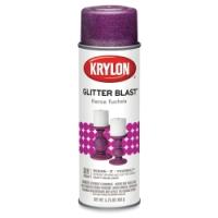 Glitter Blast Spray Paint, Fierce Fuchsia