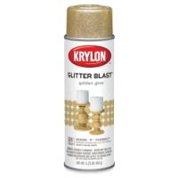 Glitter Blast Spray Paint, Golden Glow