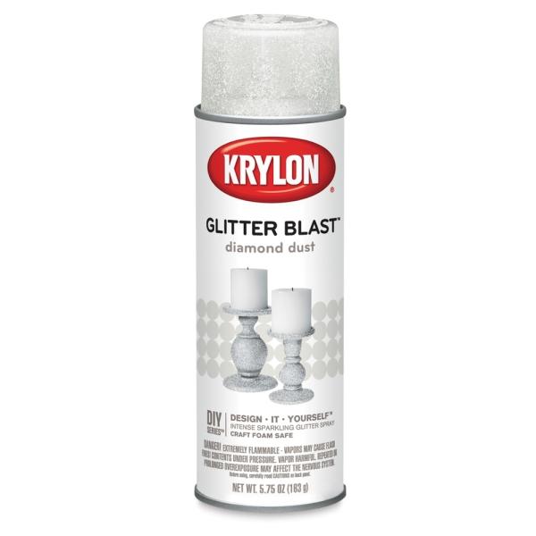 Glitter Blast Spray Paint, Diamond Dust