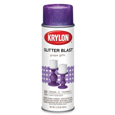 Glitter Blast Spray Paint, Grape Glitz