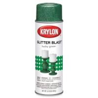 Glitter Blast Spray Paint, Lucky Green