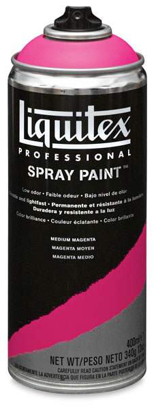Liquitex Professional Spray PaintLiquitex Professional Spray Paint, Medium Magenta