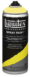 Liquitex Spray Paint - Cadmium Yellow Light Hue