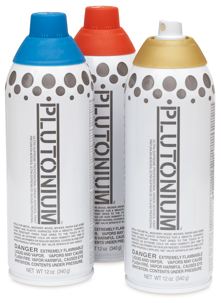 Plutonium Spray Paint