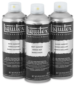 Liquitex Spray Varnish - BLICK art materials