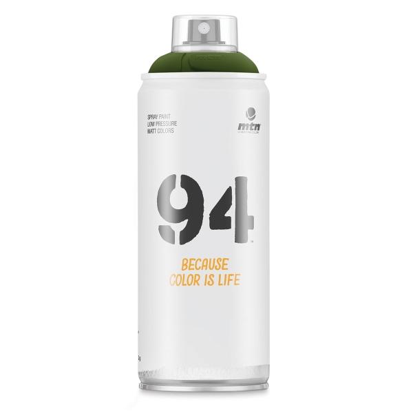 MTN 94 Spray Paint - Borneo Green, 400 ml can