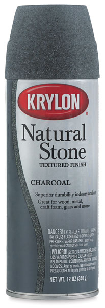 Natural Stone Spray Paint, Charcoal