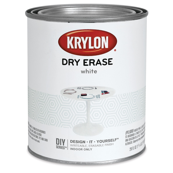 Krylon Dry Erase Paint, White