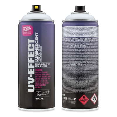 UV-Effect Luminescent Varnish Spray
