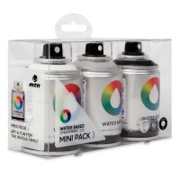MTN Water Based Spray Paint, BWG Mini Pack of 3, 100 ml cans