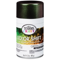 Color Shift Spray Paint, Green Copper