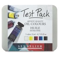 Oil Test Pack, Set of 5