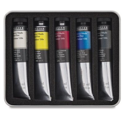 Oil Test Pack, Set of 5