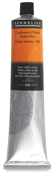 Indian Yellow Orange, 200 ml Tube