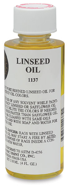 Linseed Oil (4 oz)