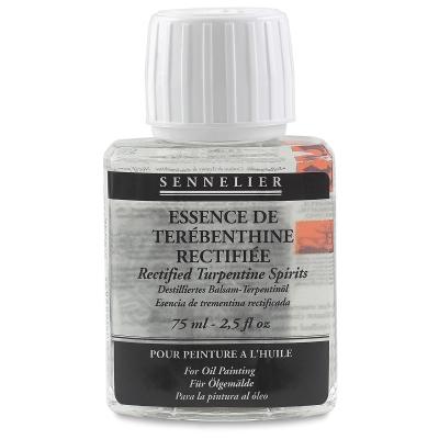 Sennelier Rectifed Turpentine Spirits, 75 ml