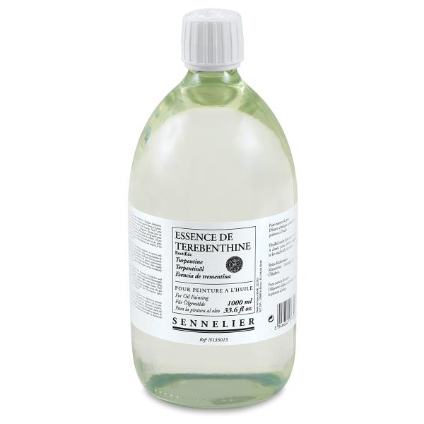 Sennelier Rectifed Turpentine Spirits, 1 Liter