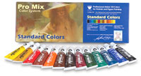 John Howard Sanden Standard Oil Color Set