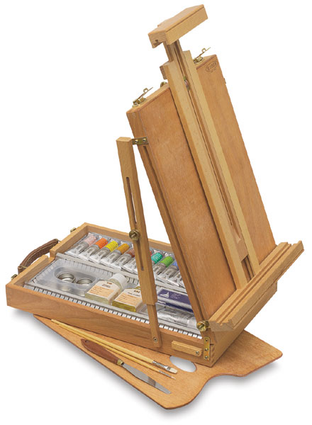 Table Easel Beechwood Box Set