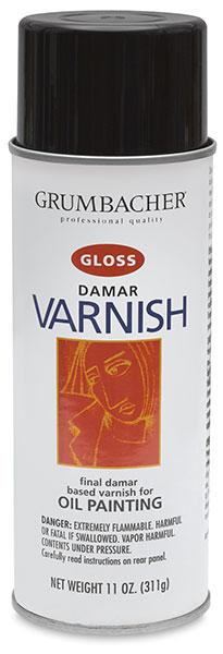 Damar Varnish, Gloss