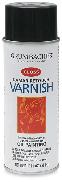 Damar Retouch Varnish, Gloss