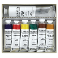 Williamsburg Handmade Oil Paint Sets, Basic Painting Set, 7 Tubes