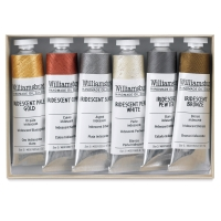 Williamsburg Handmade Oil Paint Sets, Selected Iridescents Set, 11 ml Tubes