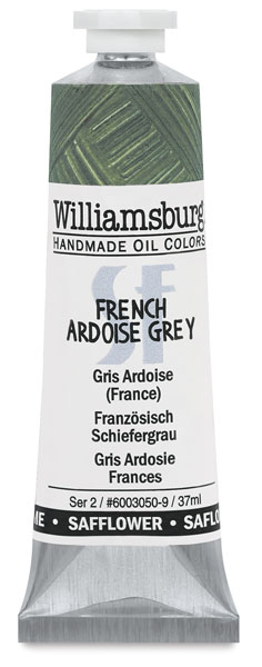 Williamsburg Handmade Safflower Oil Color, French Ardiose Grey
